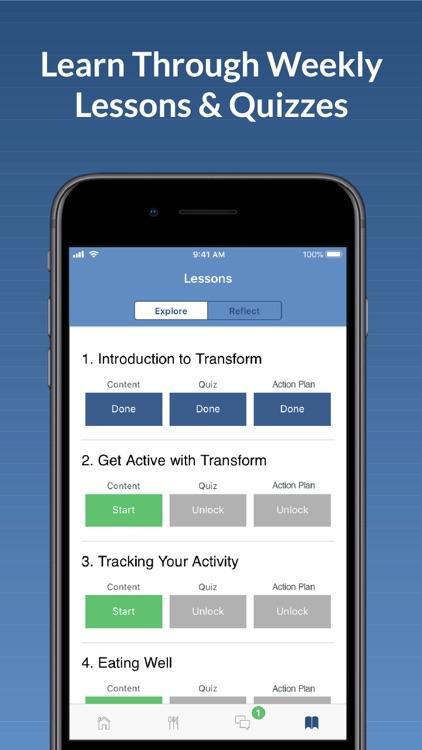 Transform | Healthy Lifestyle screenshot-4