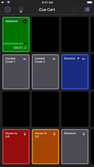 QLab Remote screenshot four
