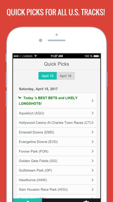 Horse Racing Picks & Hot Tips! Screenshot