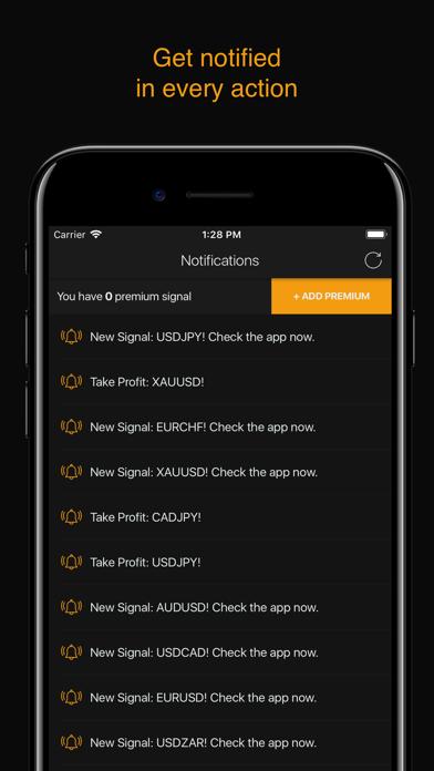 Forex Signals - Daily Tips Screenshot