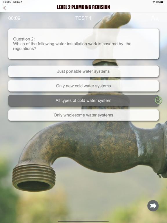 Level 2 Plumbing Revision Aid screenshot 16