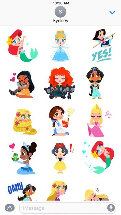 Disney Stickers: Princess screenshot two