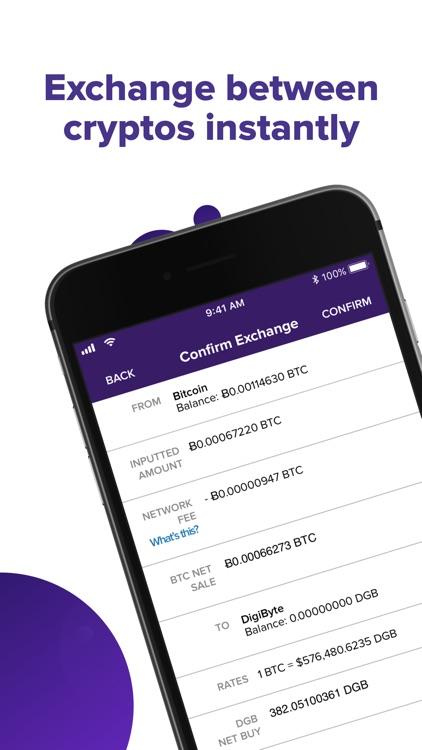 Abra: Bitcoin, XRP, LTC screenshot-3