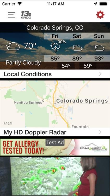 KRDO StormTracker 13 Weather screenshot-4