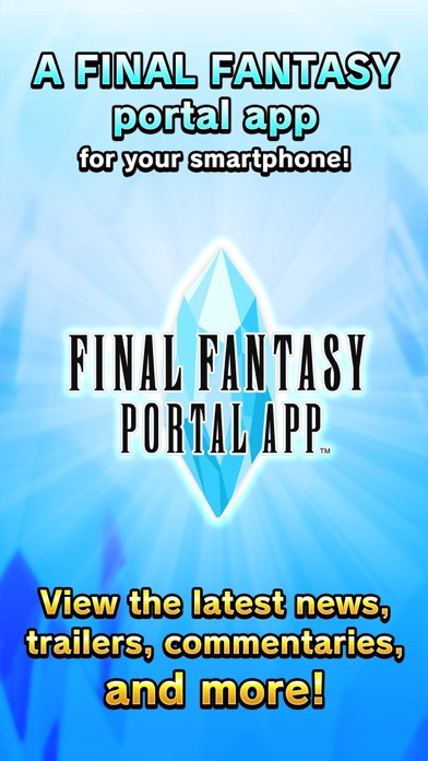 FINAL FANTASY PORTAL APP Screenshot