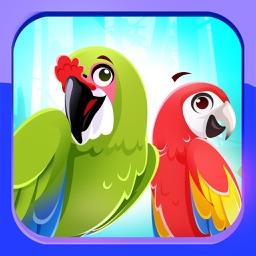 Macaw Parrot Emojis Stickers