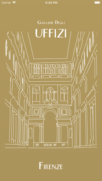 Screenshot of Uffizi Gallery1