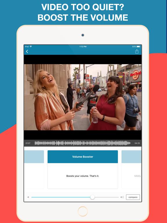 Screenshot #4 pour AudioFix Pro: Pour les Vidéos