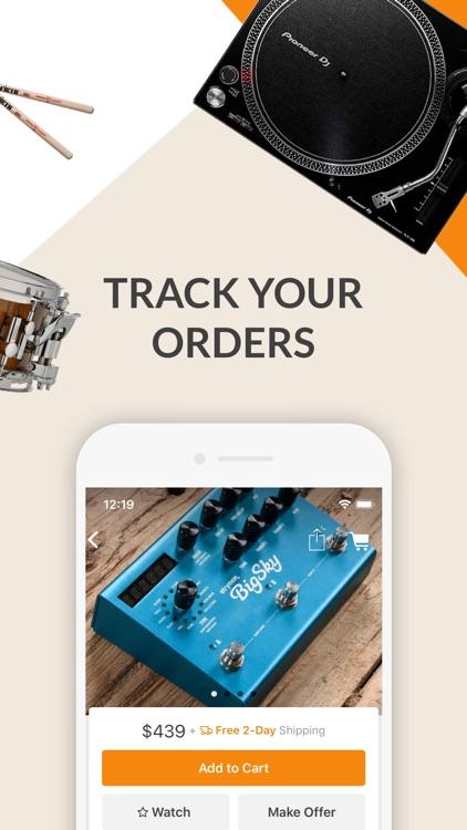 Reverb: Buy & Sell Music Gear screenshot-5