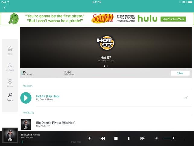 TuneIn Radio on the App Store