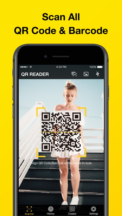 QR Code Reader & QR Scanner screenshot-0