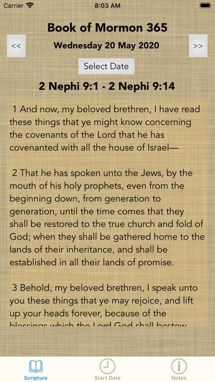 Book of Mormon 365 screenshot-3