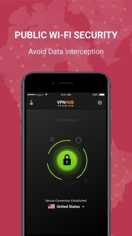 VPNHUB Unlimited Proxy VPN screenshot-3