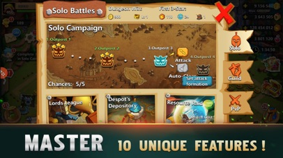 Screenshot for Clash of Lords 2: Guild Castle in United States App Store