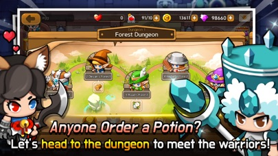 Dungeon Delivery - 窓用