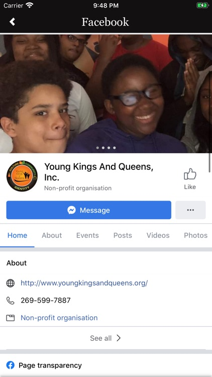Young Kings and Queens, Inc.