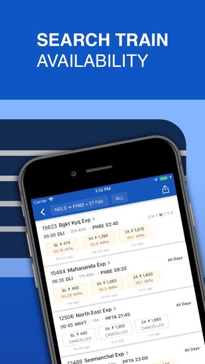 IRCTC Train Booking - ixigo screenshot-4