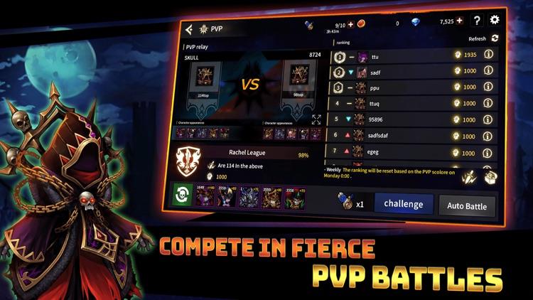 Skull Arena : Idle Hero RPG screenshot-5