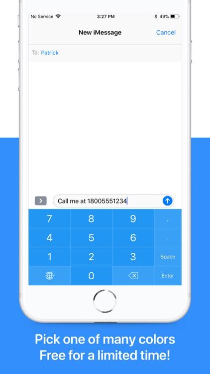 NumPad: Your Number Keyboard screenshot-0