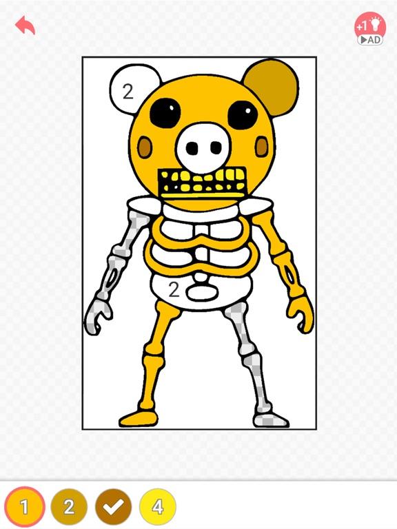 Draw Piggy Coloring Book ! для iPad