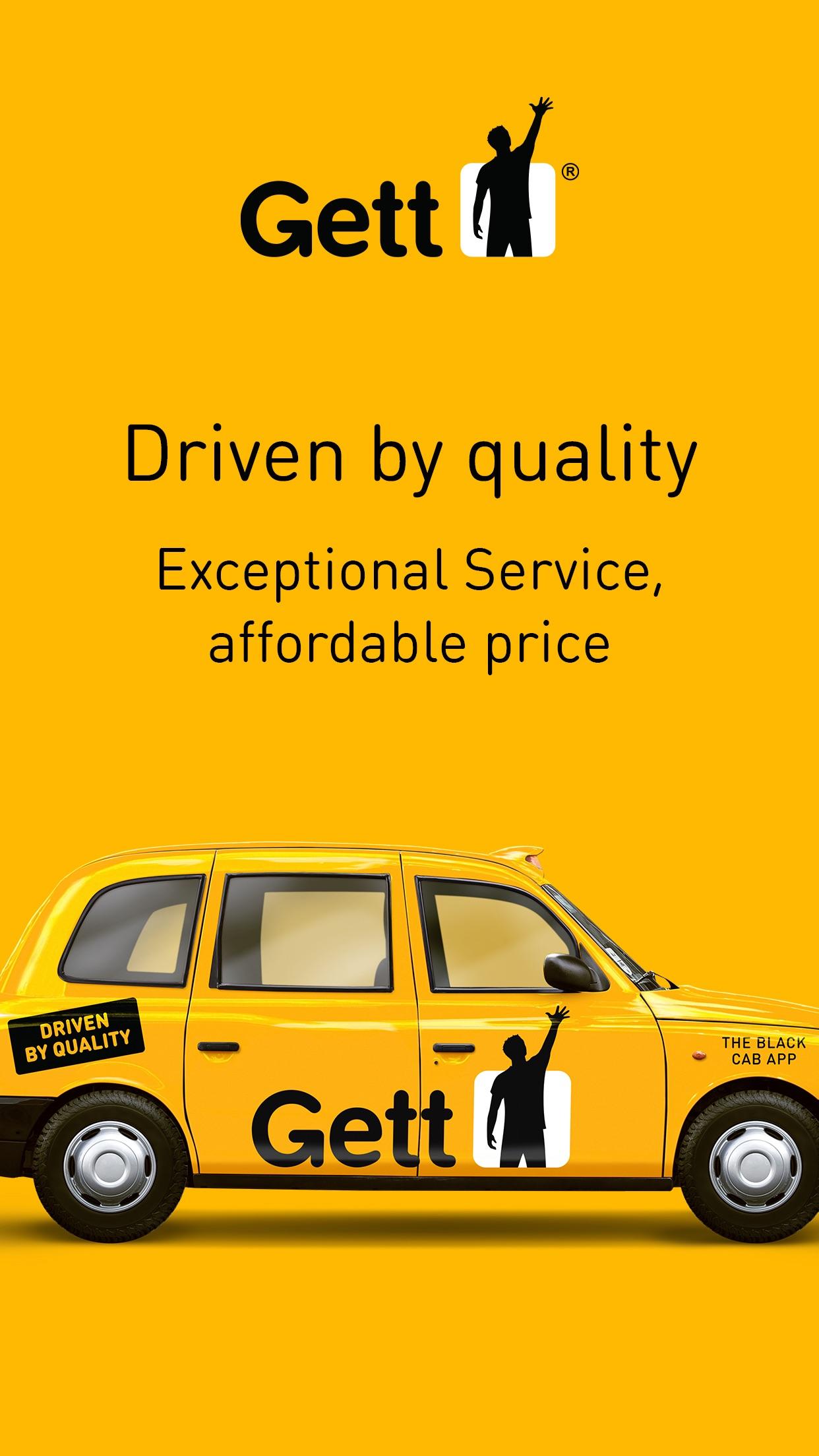 Gett - The Best Black Cabs Screenshot