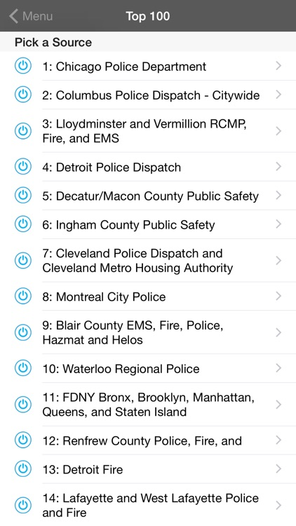 5-0 Radio Pro Police Scanner screenshot-4