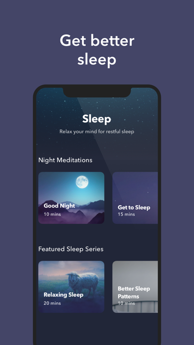 Simple Habit Sleep, Meditation Screenshot