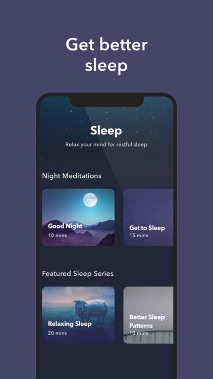 Simple Habit Sleep, Meditation screenshot-3