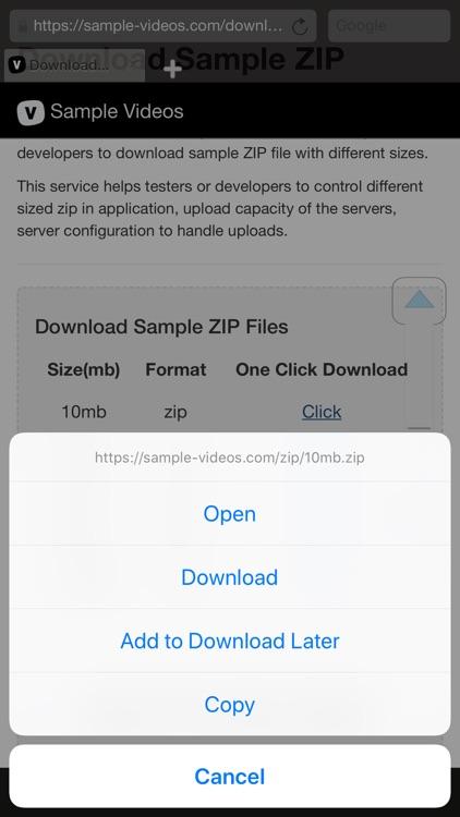 Perfect Browser: Ad Blocker screenshot-3