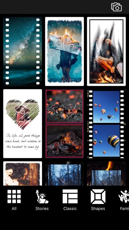 Photo Collage Maker : Pic Grid screenshot-0