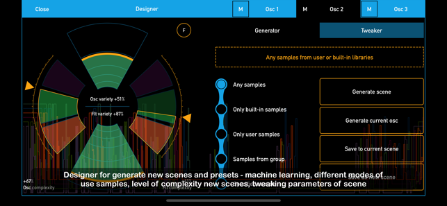 SynthScaper Screenshot