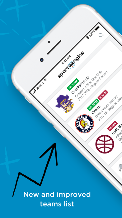 Screenshot for SportsEngine in United States App Store