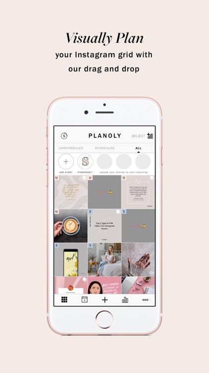 Planoly: Planner for Instagram screenshot-0