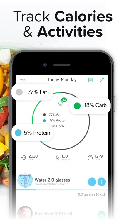Calorie & Food Counter | Arise screenshot-9