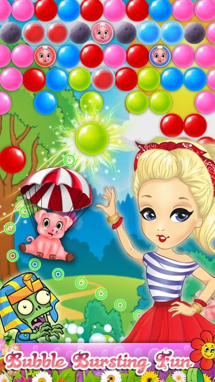 Bubble Blossom Ball Shooter screenshot-0