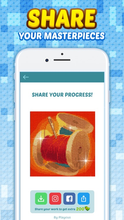 Cross Stitch: Color by Letters screenshot-5