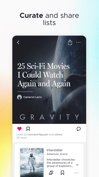 Likewise: Get Recommendations screenshot-5