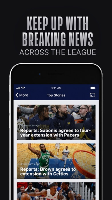download NBA: Official App for PC