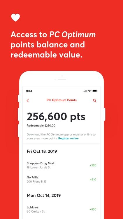 PC Financial Mobile screenshot-3
