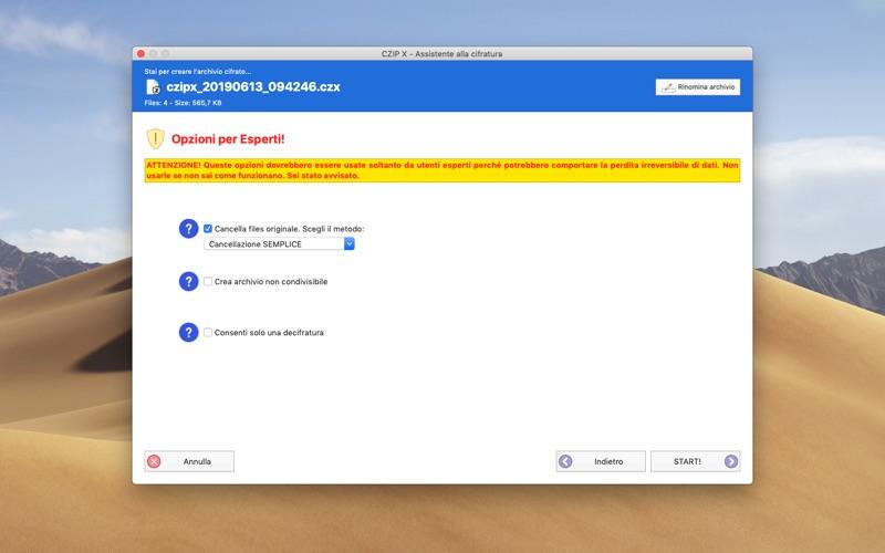 CZIP X - encryption tool скриншот программы 5