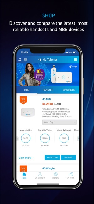 telenor app download free