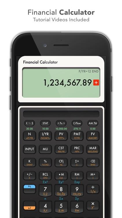 10bII Financial Calculator PRO screenshot-3