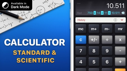 Screenshot for Calculatrice HD in France App Store