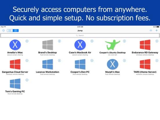 Jump Desktop (RDP, VNC, Fluid) Screenshots
