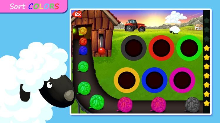 Shapes & Colors Farm Puzzles