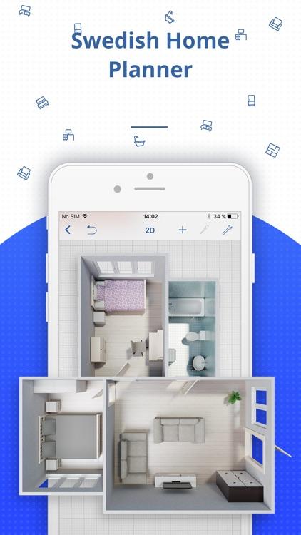 Swedish Home Planner 3D screenshot-3