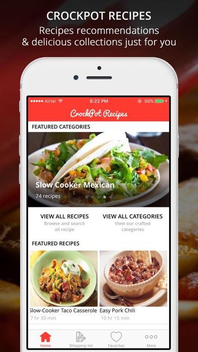 Healthy CrockPot Recipes Screenshot