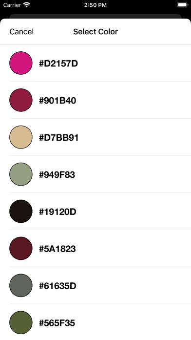 RGB, CMYK - Color Converter screenshot 3