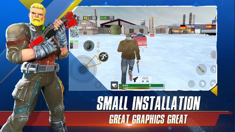 Winter Strike Battle Royale 3D screenshot-3
