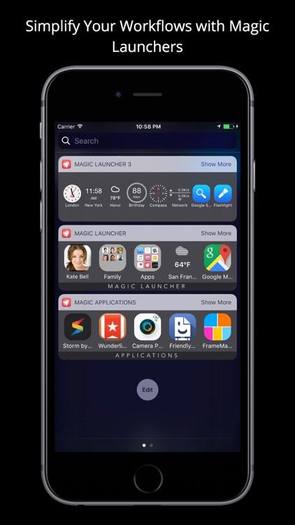Magic Launcher with Widgets screenshot-3